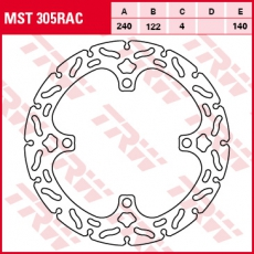 Bremsscheibe MST305RAC