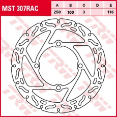 Bremsscheibe MST307RAC