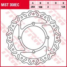 Bremsscheibe MST308EC