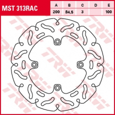 Bremsscheibe MST313RAC