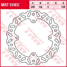 Bremsscheibe MST314EC