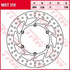 Bremsscheibe MST319