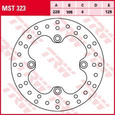 Bremsscheibe MST323