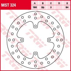Bremsscheibe MST324