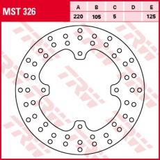 Bremsscheibe MST326