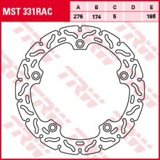 Bremsscheibe MST331RAC