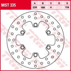 Bremsscheibe MST335