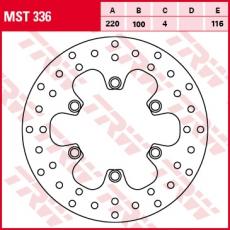 Bremsscheibe MST336