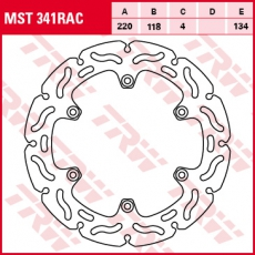 Bremsscheibe MST341RAC