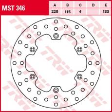 Bremsscheibe MST346