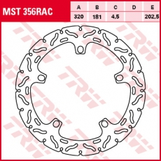 Bremsscheibe MST356RAC