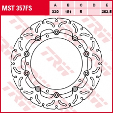 Bremsscheibe MST357FS
