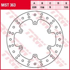 Bremsscheibe MST363