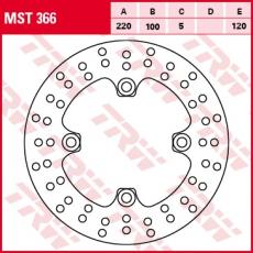Bremsscheibe MST366