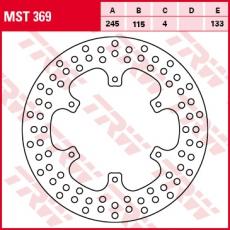 Bremsscheibe MST369