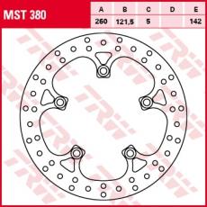 Bremsscheibe MST380