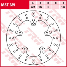 Bremsscheibe MST389
