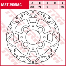 Bremsscheibe MST390RAC