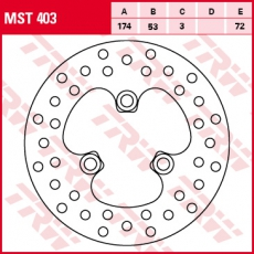 Bremsscheibe MST403
