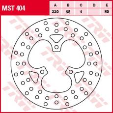Bremsscheibe MST404