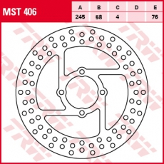 Bremsscheibe MST406