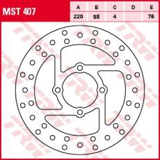 Bremsscheibe MST407