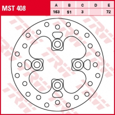 Bremsscheibe MST408
