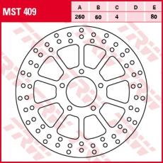 Bremsscheibe MST409