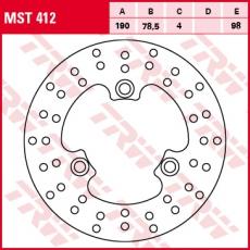 Bremsscheibe MST412