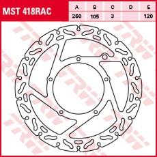 Bremsscheibe MST418RAC