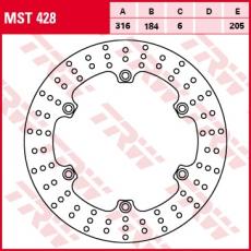 Bremsscheibe MST428