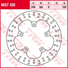 Bremsscheibe MST430
