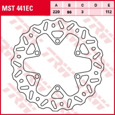 Bremsscheibe MST441EC