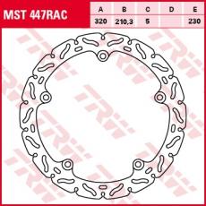 Bremsscheibe MST447RAC