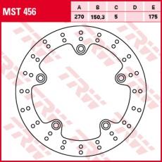 Bremsscheibe MST456