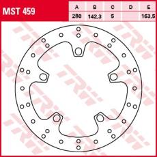 Bremsscheibe MST459