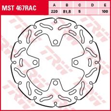 Bremsscheibe MST467RAC