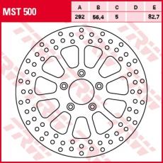 Bremsscheibe MST500