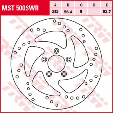Bremsscheibe MST500SWR