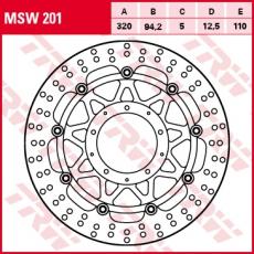 Bremsscheibe MSW201