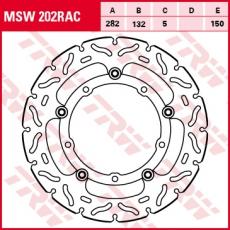 Bremsscheibe MSW202RAC