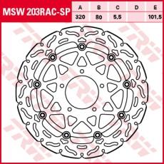 Bremsscheibe MSW203RAC-SP