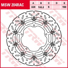 Bremsscheibe MSW204RAC