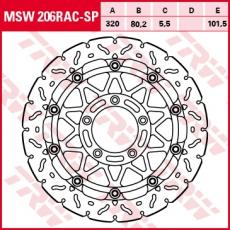 Bremsscheibe MSW206RAC-SP
