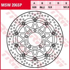 Bremsscheibe MSW206SP