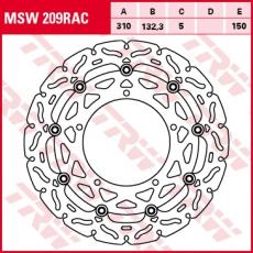 Bremsscheibe MSW209RAC