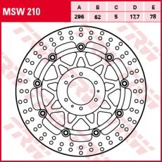 Bremsscheibe MSW210