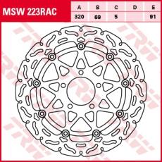 Bremsscheibe MSW223RAC
