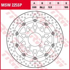 Bremsscheibe MSW225SP