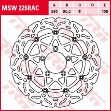 Bremsscheibe MSW226RAC